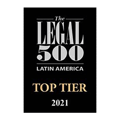 Legal 500 Top Tier 2021